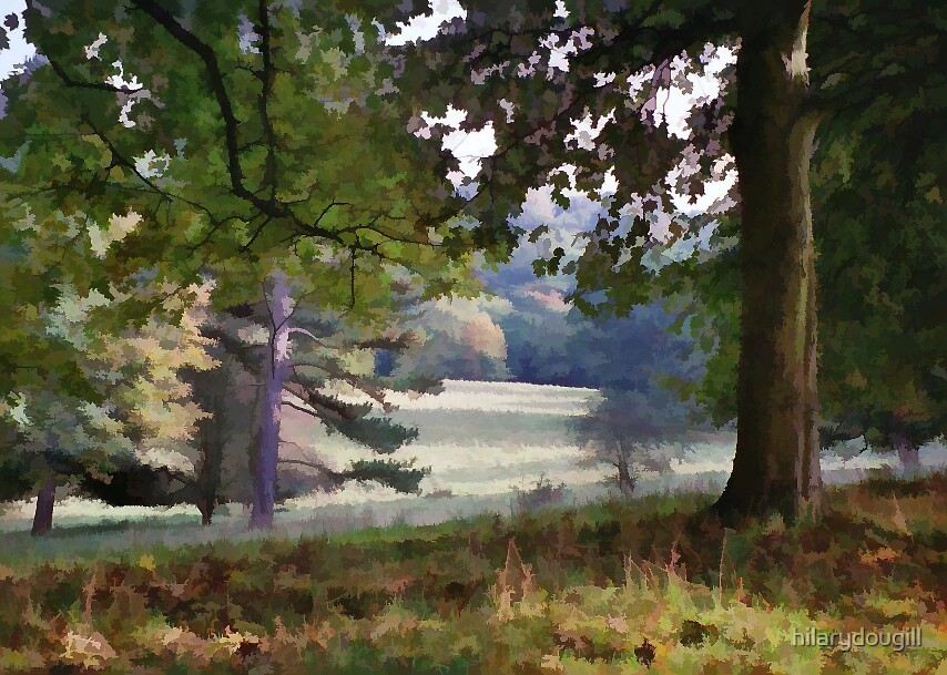 Autumn in the Park by hilarydougill