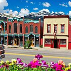 Main Street - Breckenridge Colorado by Gregory Ballos