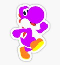 Purple Yoshi Sticker