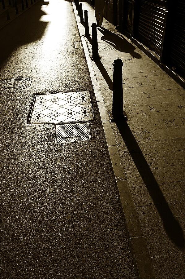 Seville Student Shadows by ragman