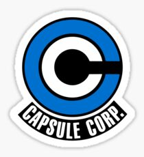 Dragon Ball Z - Capsule Corp. Sticker