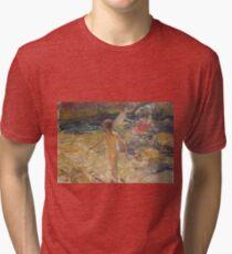 Joaquin Sorolla Y Bastida - The Bath, Javea Tri-blend T-Shirt