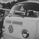 Retro VeeDub Love - Volkswagen Camper Van Vintage by misscassphoto
