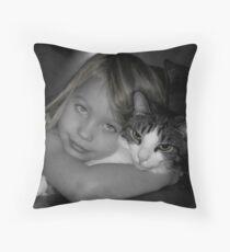 Cheek To Cheek Throw Pillow