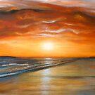 Fiery Sunset by Cherie Roe Dirksen