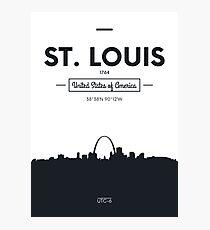 Poster city skyline St Louis Photographic Print