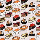 Sushi Persian Cat by Huebucket