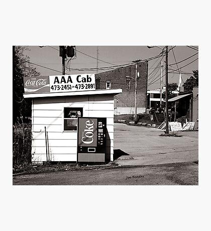 AAA Cab Photographic Print