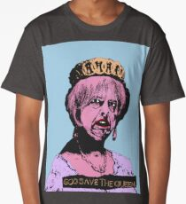 God (May) Save The Queen Long T-Shirt