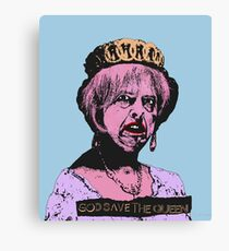 God (May) Save The Queen Canvas Print