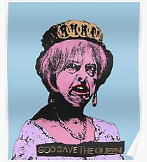 God (May) Save The Queen Poster
