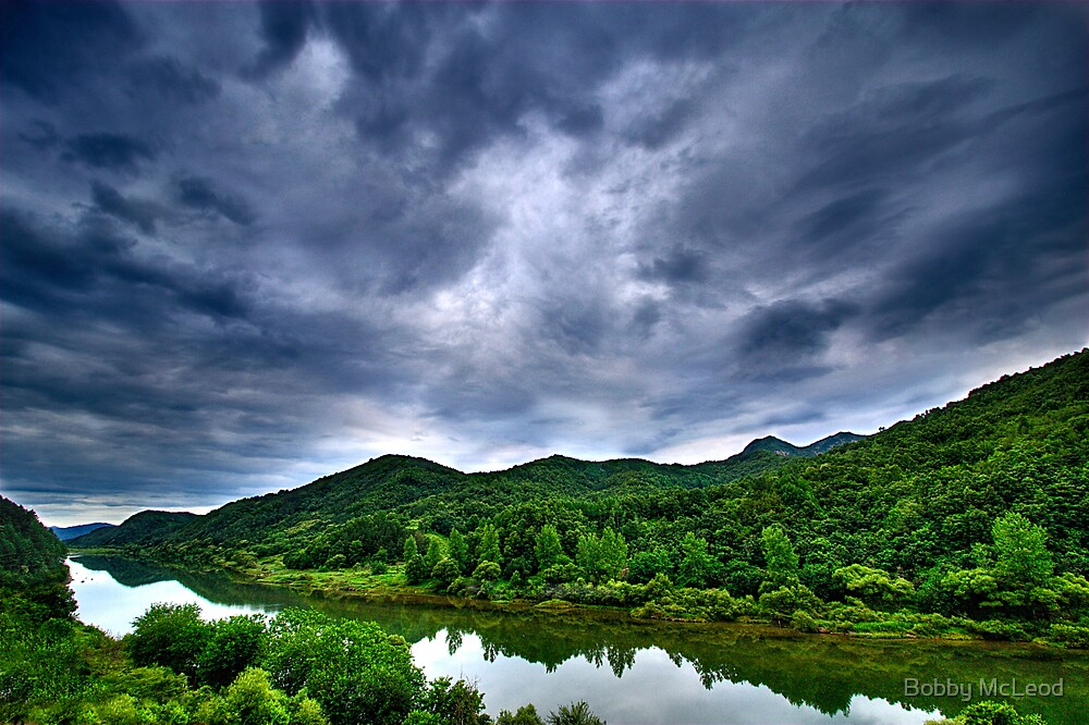 Ominous Sky by Bobby McLeod