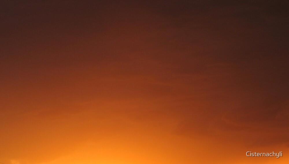 Sunset Orange by Cisternachyli