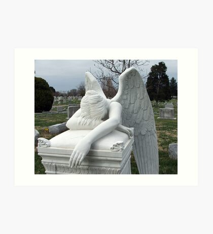 Mourning Angel Art Print