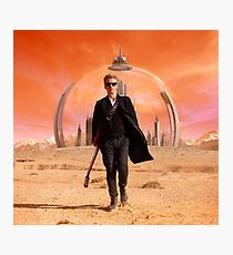 Peter Capaldi Photographic Print