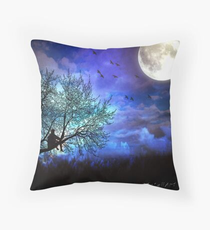 Looking for Inspiration... Throw Pillow