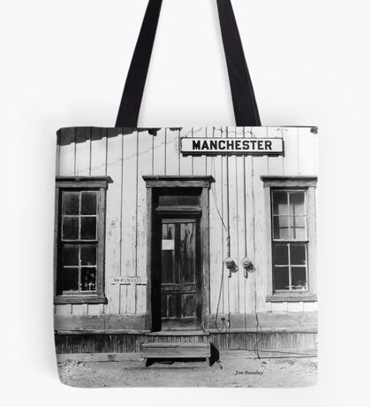Railroad Depot Manchester Tennessee Tote Bag