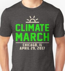 People's Climate March Chicago, IL 2017 Tee Shirt  Unisex T-Shirt