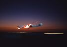 Super Constellation @ Night Alight Airshow,Australia 2005 by muz2142