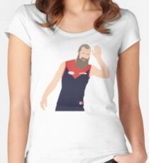 Max Gawn Wants a High Five Women's Fitted Scoop T-Shirt