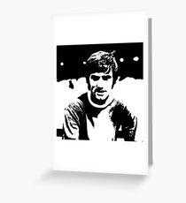 George Best Footballer Greeting Card
