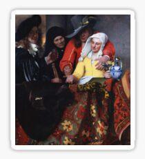 Johannes Vermeer - The Procuress 1656 Sticker