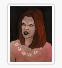 Doppelgangland - Vampire Willow - BtVS Sticker