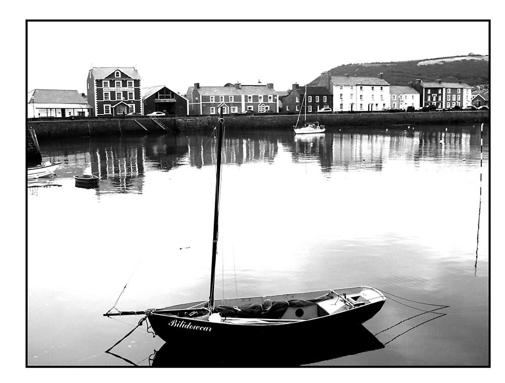 Aberaeron Harbour by Andrew Chittock