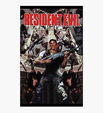 Resident Evil PS1 Box Art Photographic Print