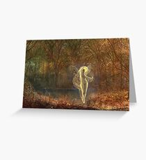 John Atkinson Grimshaw - Dame Autumn Hath A Mournful Face Greeting Card