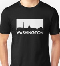 Washington Skyline Unisex T-Shirt