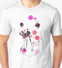 Two girls - Purpule Unisex T-Shirt