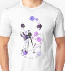 Two girls - violet Unisex T-Shirt