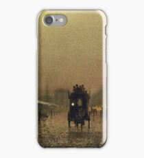 John Atkinson Grimshaw - Liverpool Docks iPhone Case/Skin