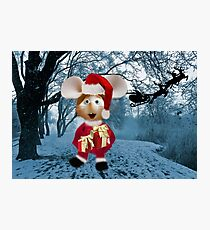 Topo Gigio CHRISTMAS SURPRISE PICTURE AND OR CARDS,PRINTS ECT Photographic Print