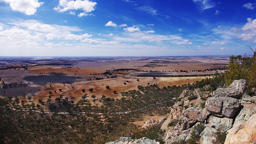 On the top of Mount Arapiles by howieb101