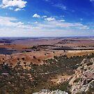 On the top of Mount Arapiles by Derek Kan