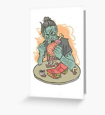 Handburger Anyone? Greeting Card