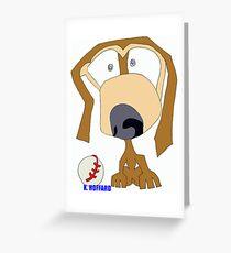 Fetch Greeting Card