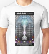 """BGRN-003 Benefit Poster with Sam Farrand - """"Song of the Seraphims""""  Unisex T-Shirt"""