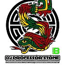 DJ Professor Stone - July 2012 Merch ver 777 black by David Avatara