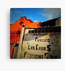 Las Casas Canvas Print