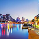 Melbourne Lights by Kirk  Hille