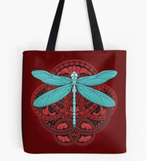 Dragonfly Fire Tote Bag