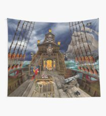 Stolen Pirate Treasure Wall Tapestry
