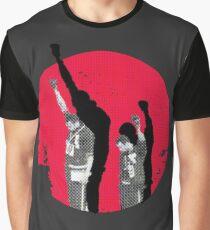 Momente in der Geschichte - Mexiko 68 - Tommie Smith Grafik T-Shirt