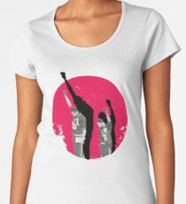 Moments in history - mexico 68 - Tommie Smith Women's Premium T-Shirt