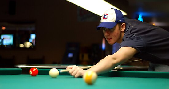 scott playing pool by foryoutoknowtice