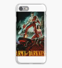 army of darkness poster iPhone Case/Skin