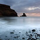 Talisker Sea Stack at Sunset by Maria Gaellman